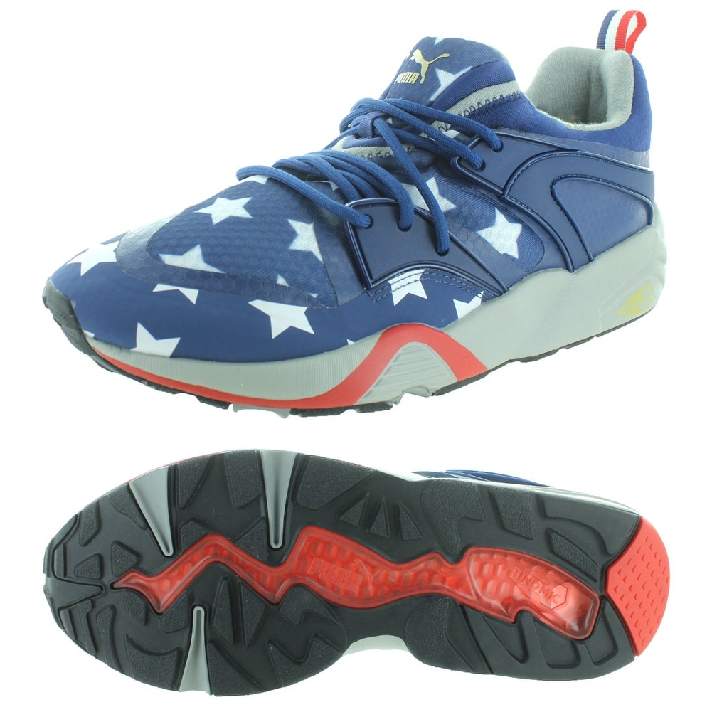 c09876b65cae57 Shop Puma Blaze of Glory Men s American Flag Sneakers Shoes - Free Shipping  Today - Overstock - 19551720