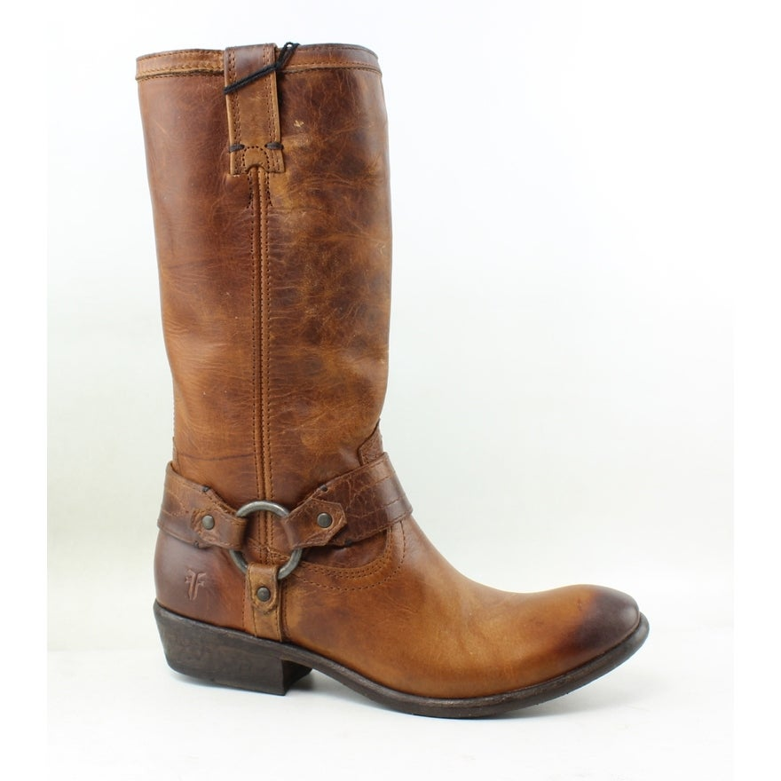 f7553fa77a1 Frye Womens Carson Brown Riding, Equestrian Boots Size 6