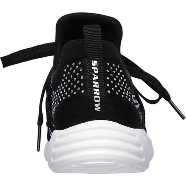 5e722568f0eb Shop Skechers Women s BOBS Sport Sparrow Honeysuckle Slip-On Sneaker Black  - Free Shipping On Orders Over  45 - Overstock - 26270654