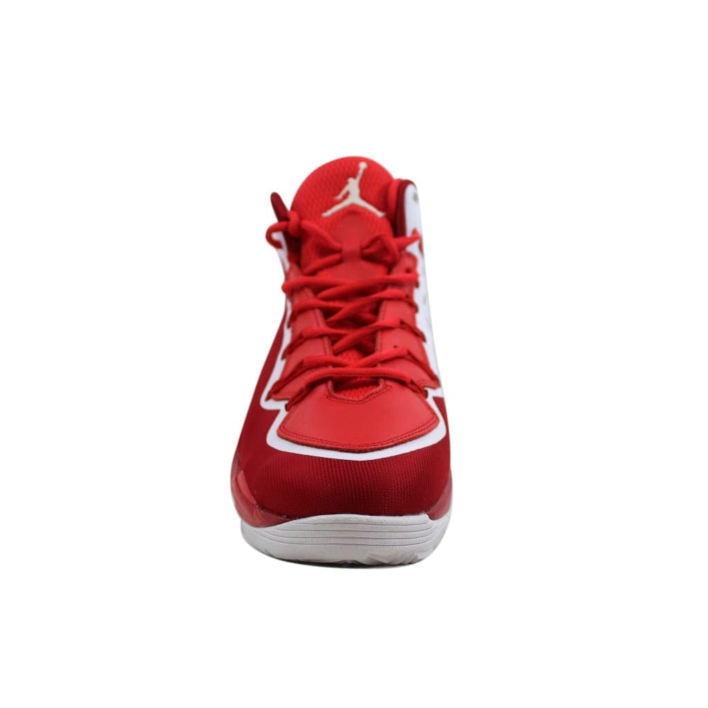newest collection b64b4 81796 Shop Nike Men s Air Jordan Super.Fly 2 PO Gym Red White-Challenge Red 645058-602  - On Sale - Free Shipping Today - Overstock - 24015407