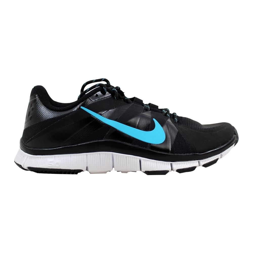 purchase cheap 5e881 8b72c Shop Nike Men s Free Trainer 5.0 Black Gamma Blue-White 511018-044 - Free  Shipping Today - Overstock - 21893010