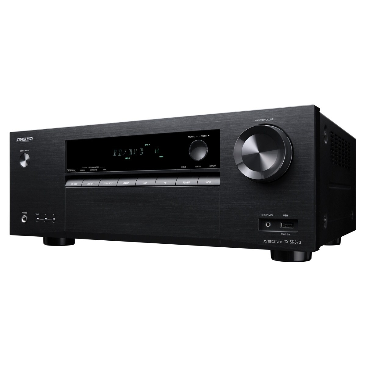 Shop Onkyo TX-SR373 5.2 Channel A/V Receiver - Free Shipping Today -  Overstock.com - 18971518