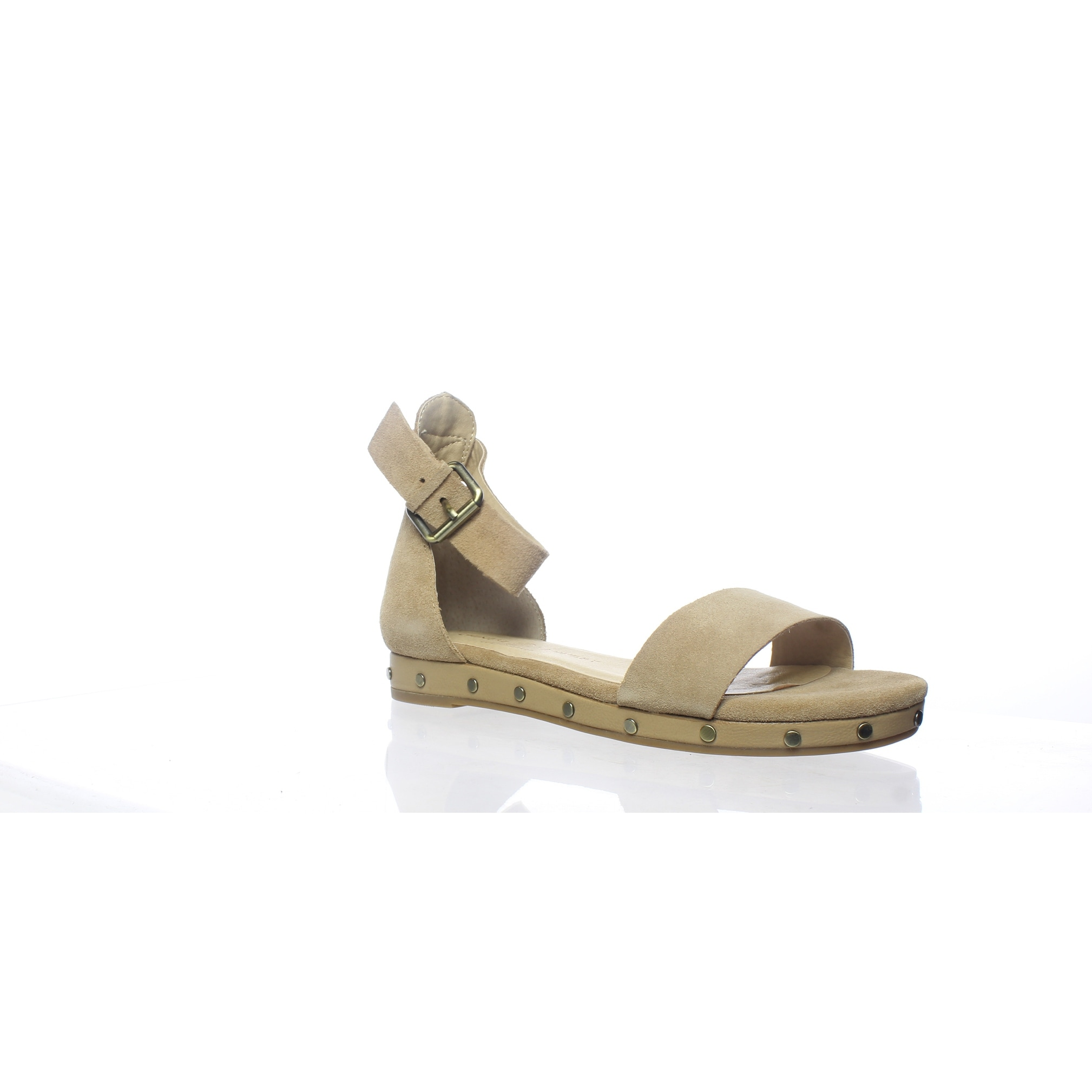 1b550ab40eb Shop Chinese Laundry Womens Grady Camel Suede Ankle Strap Flats Size 7 -  Free Shipping On Orders Over  45 - Overstock - 27986434