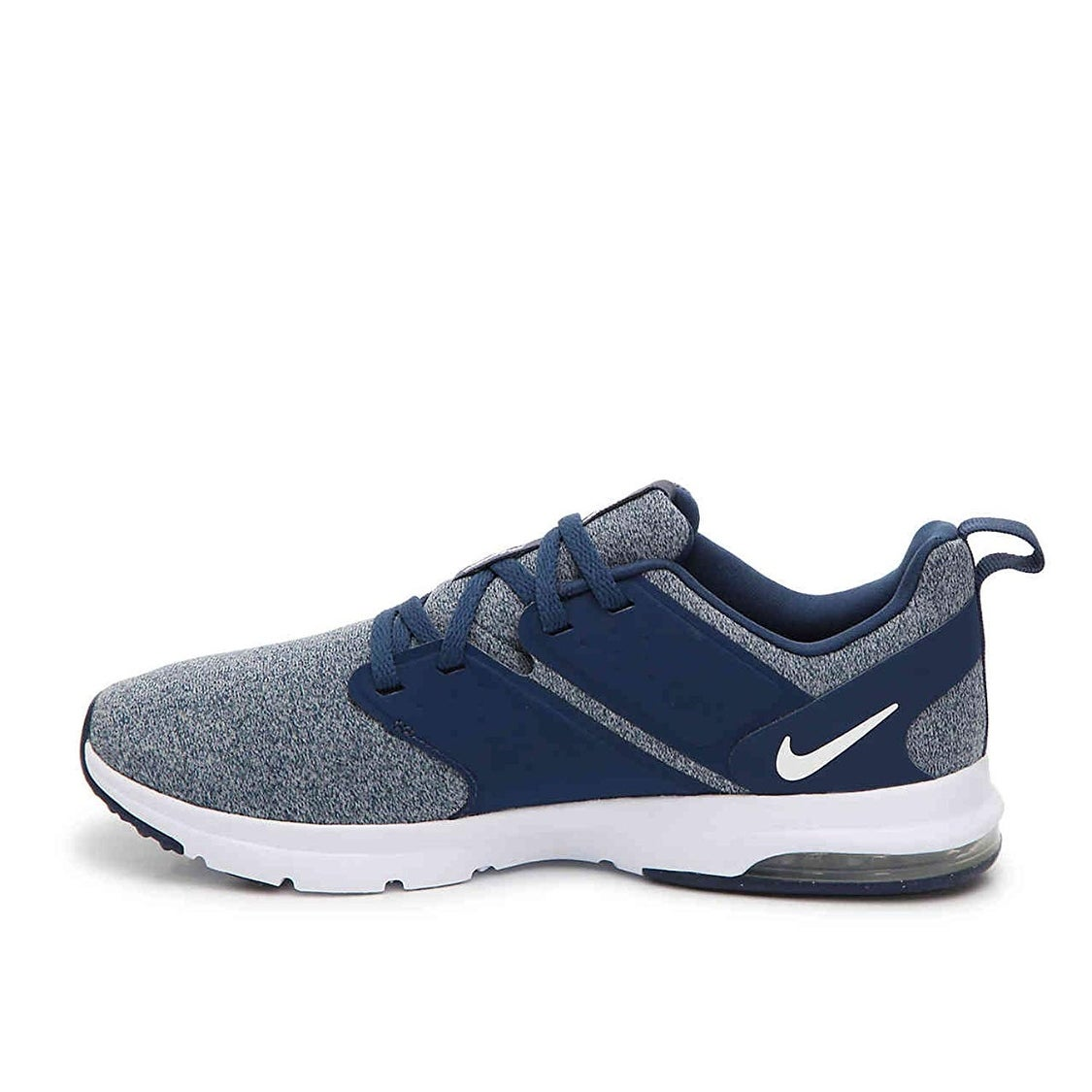 Shop Nike Women s Air Bella Navy White-Wolf Grey Training Shoes (9.5) -  Free Shipping Today - Overstock - 25878054 f7cc551f4
