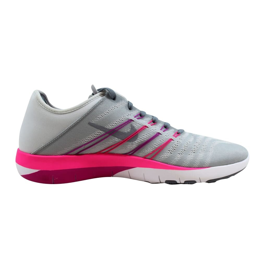 6b8784b7d6589 Shop Nike Women s Free TR 6 Pure Platinum Stealth 833413-006 - Free  Shipping Today - Overstock - 23436867