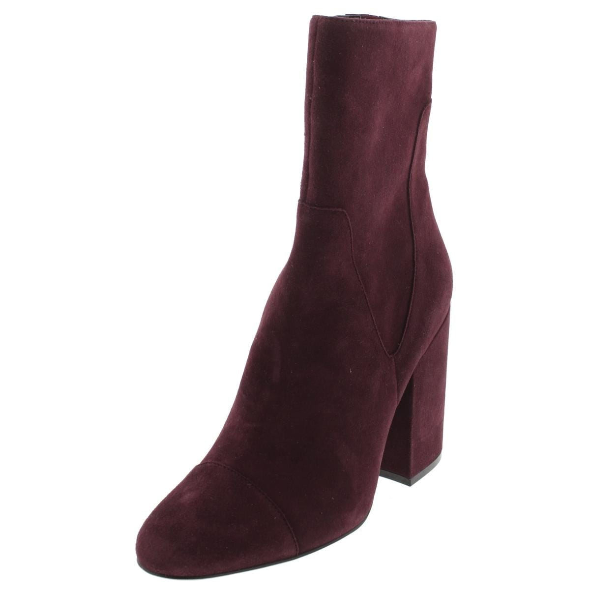 2087eb6cdd325 Shop Kendall + Kylie Womens Brooke Mid-Calf Boots Suede Block Heel - Free  Shipping On Orders Over $45 - Overstock - 16772616