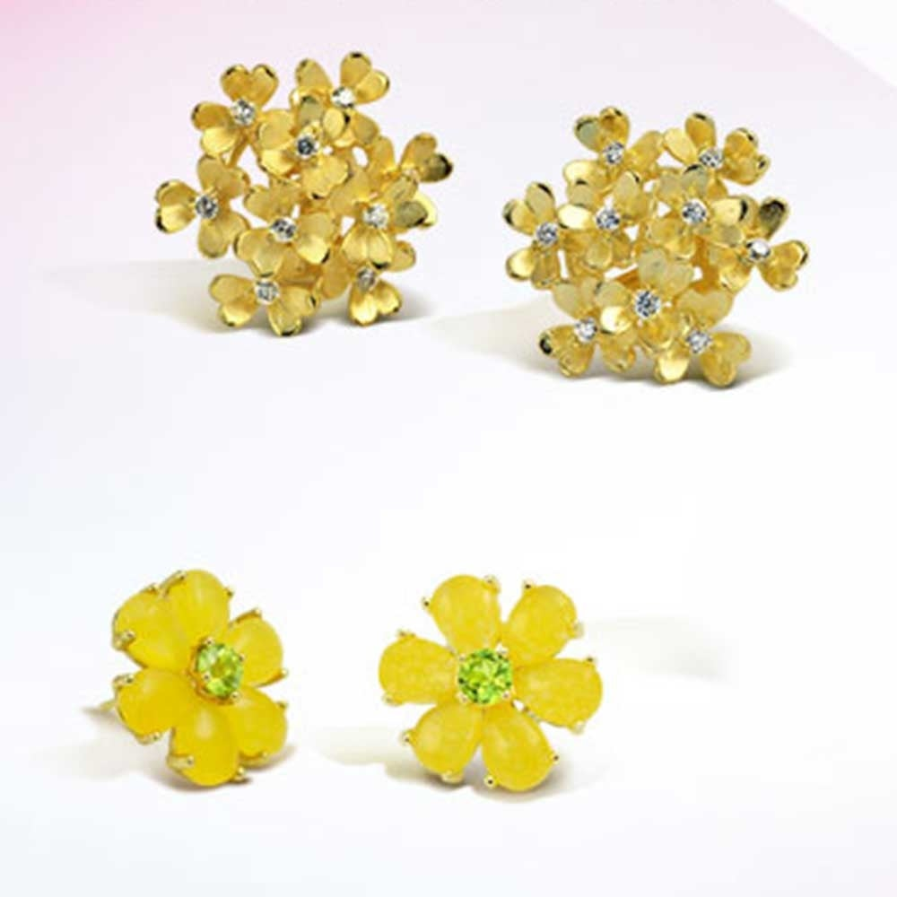 Shop bling jewelry daisy flower dyed peridot august birthstone shop bling jewelry daisy flower dyed peridot august birthstone yellow jade stud earrings gold plated 11mm on sale free shipping on orders over 45 izmirmasajfo