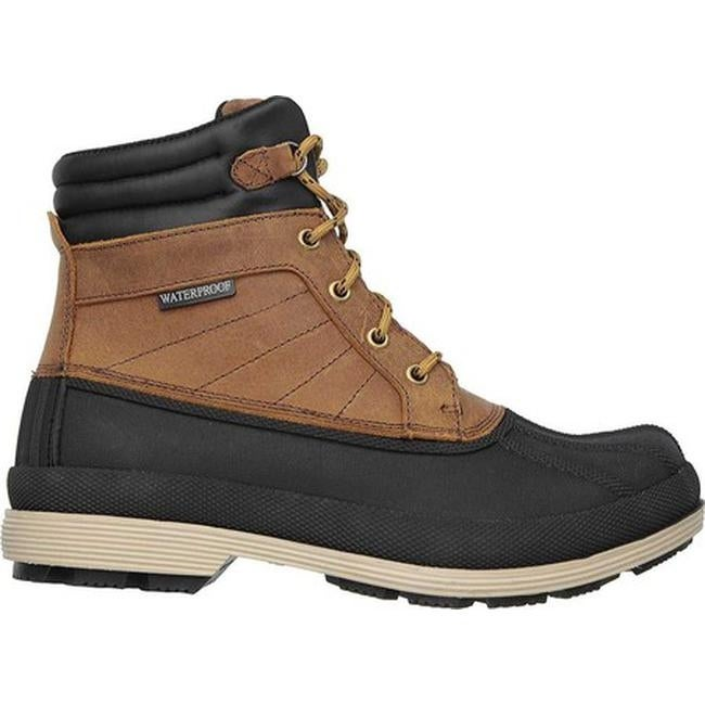 25b4629268 Shop Skechers Men s Robards Slip Resistant Work Boot Brown - On Sale - Free  Shipping Today - Overstock - 10890428