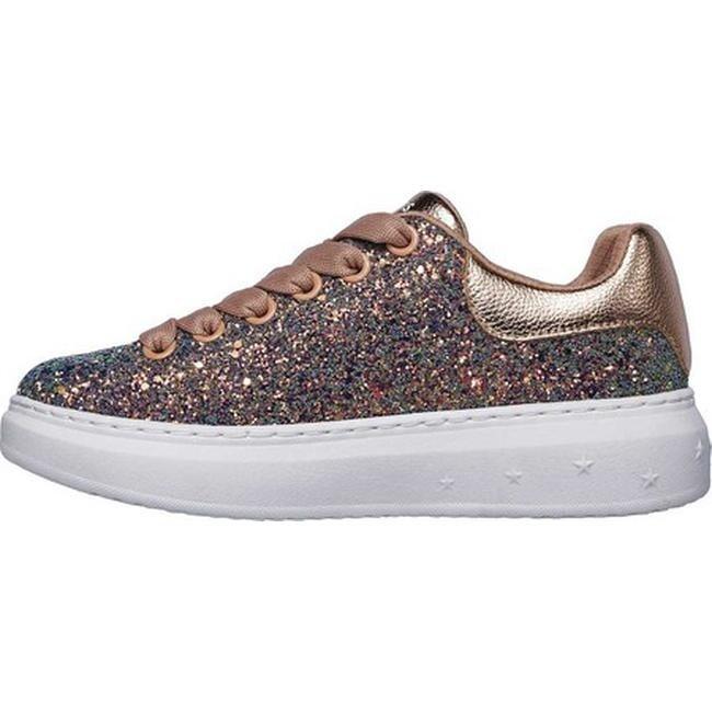 1cb4fec8e51 Shop Skechers Women s High Street Glitter Rockers Sneaker Gold Multi - On  Sale - Free Shipping Today - Overstock - 25578169