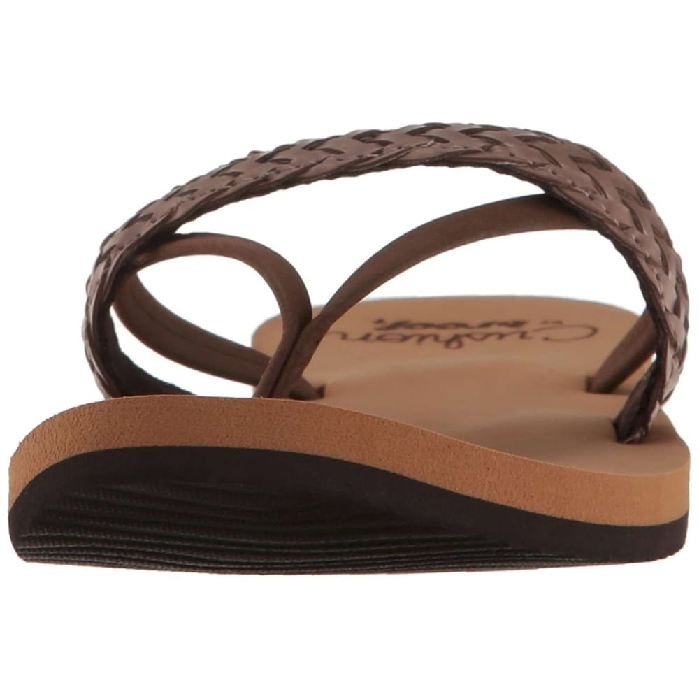 ab9a3f5b7d1e01 Shop Reef Womens Cushion Wild Leather Open Toe Beach - Free Shipping On  Orders Over  45 - Overstock.com - 19755272