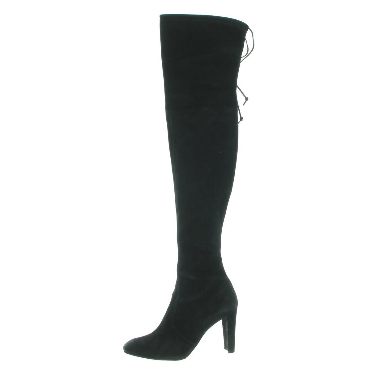 bcd7f96ade8 Shop Stuart Weitzman Womens Highland Over-The-Knee Boots Stretch Heels -  Free Shipping Today - Overstock - 24087725