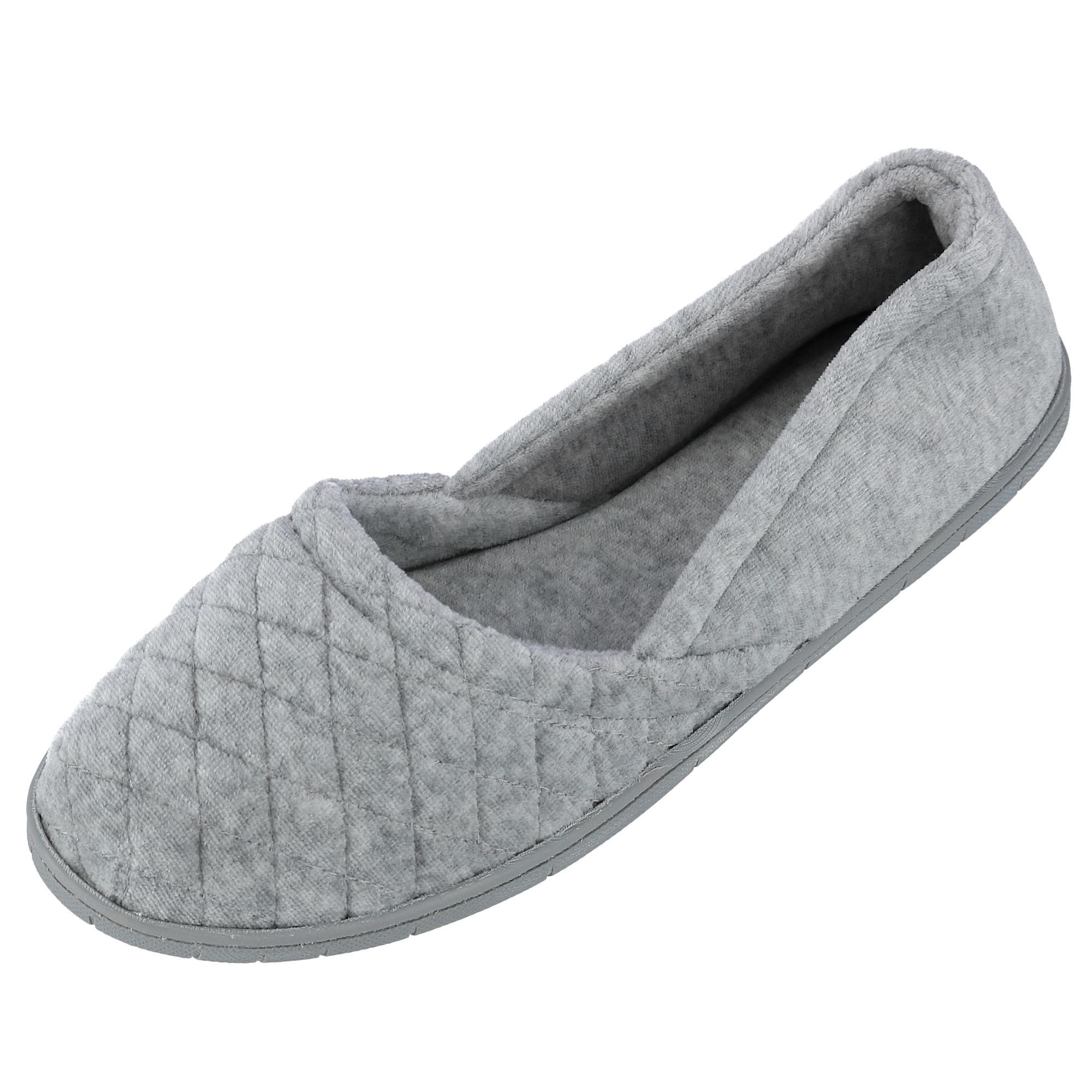a7685a961487 Shop Dearfoams Women s Velour Espadrille Slippers with Microfiber Insole -  Free Shipping On Orders Over  45 - Overstock - 15420574