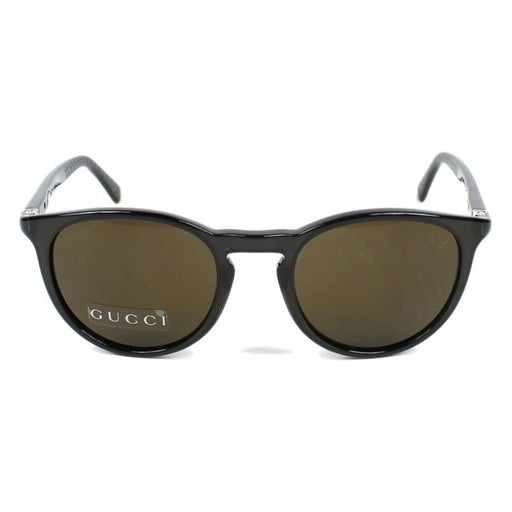 c19f61ad2de Shop Gg1148S 50X Round Sunglasses With Crystal Grey Frames And Brown Lenses  - Crystal Grey - Free Shipping Today - Overstock.com - 17213777