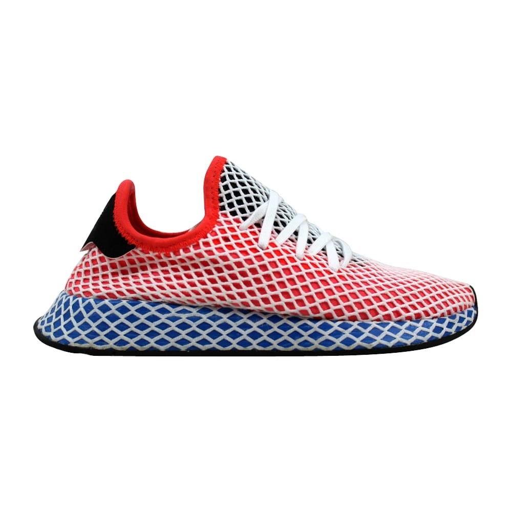 8b4c5179ee1cd Shop Adidas Deerupt Runner W Solar Red Blue AC8466 Women s - On Sale ...