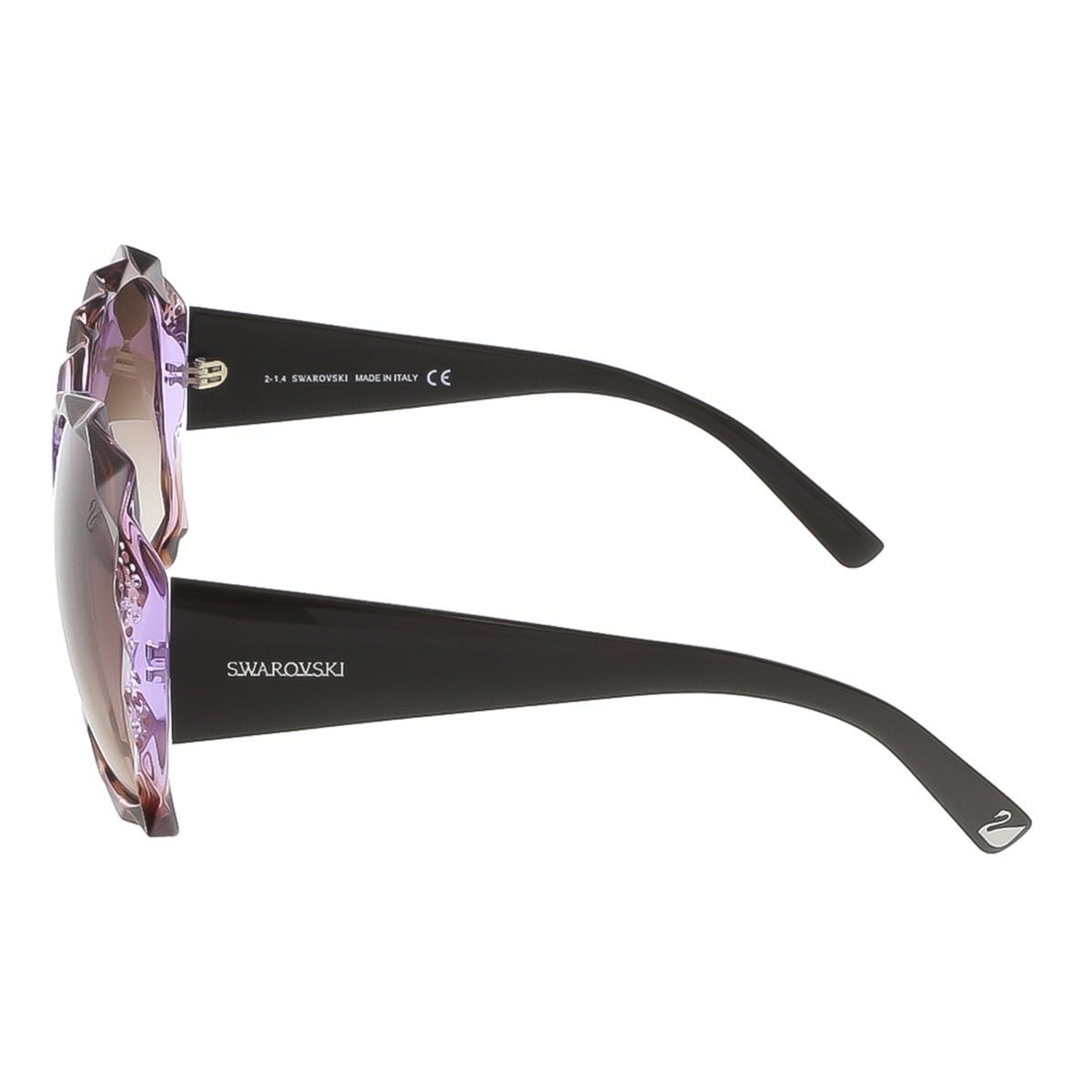 c776594cdf02 Shop Swarovski SK0040 S 50Z Shaded Brown Violet Peach Oversized sunglasses  - shaded brown violet peach - Free Shipping Today - Overstock - 13401507