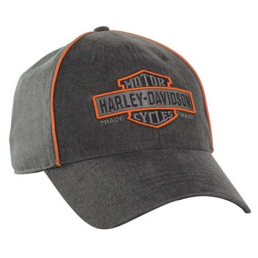 Shop Harley-Davidson Men s Nostalgic Bar   Shield Baseball Cap BC31380 -  Free Shipping On Orders Over  45 - Overstock - 18802756 71e7398a2a2b