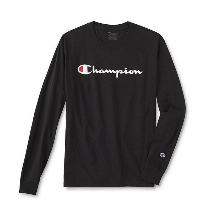 254c836a Shop Champion Mens Classic Jersey Long Sleeve Tee - Free Shipping On ...