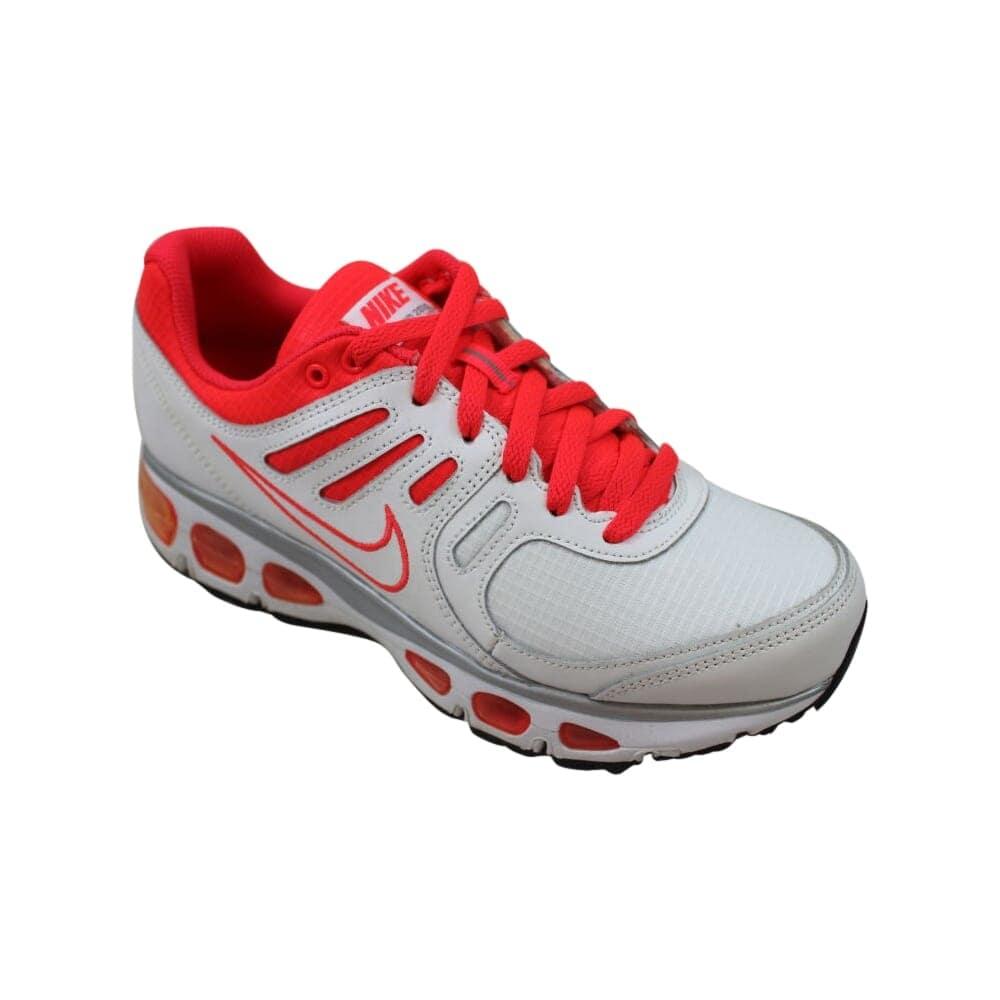 quality design b1087 18442 Nike Grade-School Air Max Tailwind 2010 White/White-Silver Red-Metallic  Silver 454503-100 Size 7