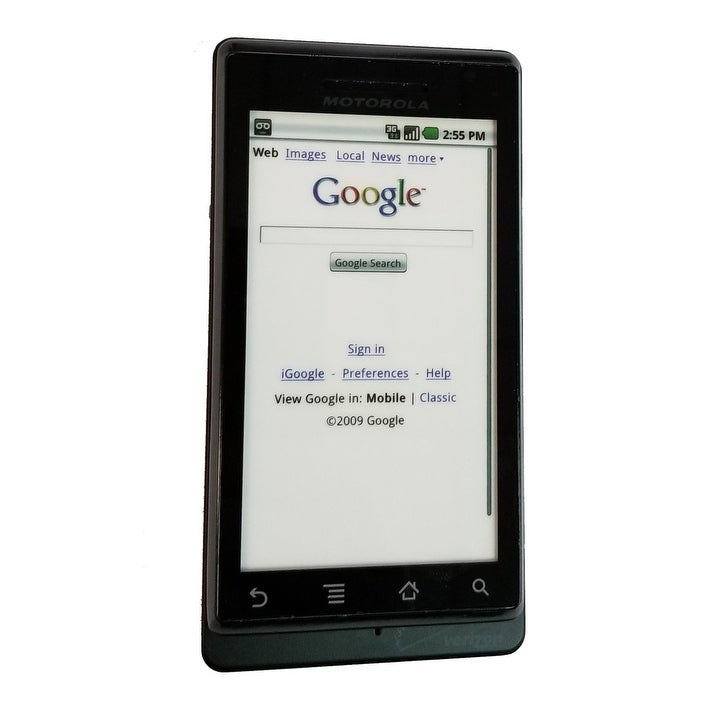 Motorola Droid A855 Replica Dummy Phone / Toy Phone (Black)