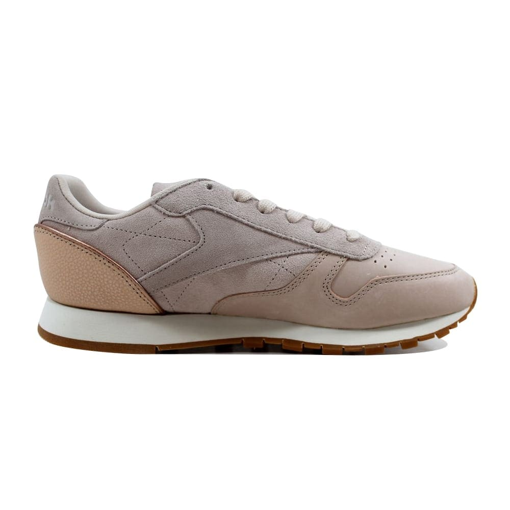 87cdc1373b2 Shop Reebok Classic Leather Golden Neutrals Sandtrap Rose Gold-Chalk BD3744  Women s - On Sale - Free Shipping Today - Overstock - 22919245