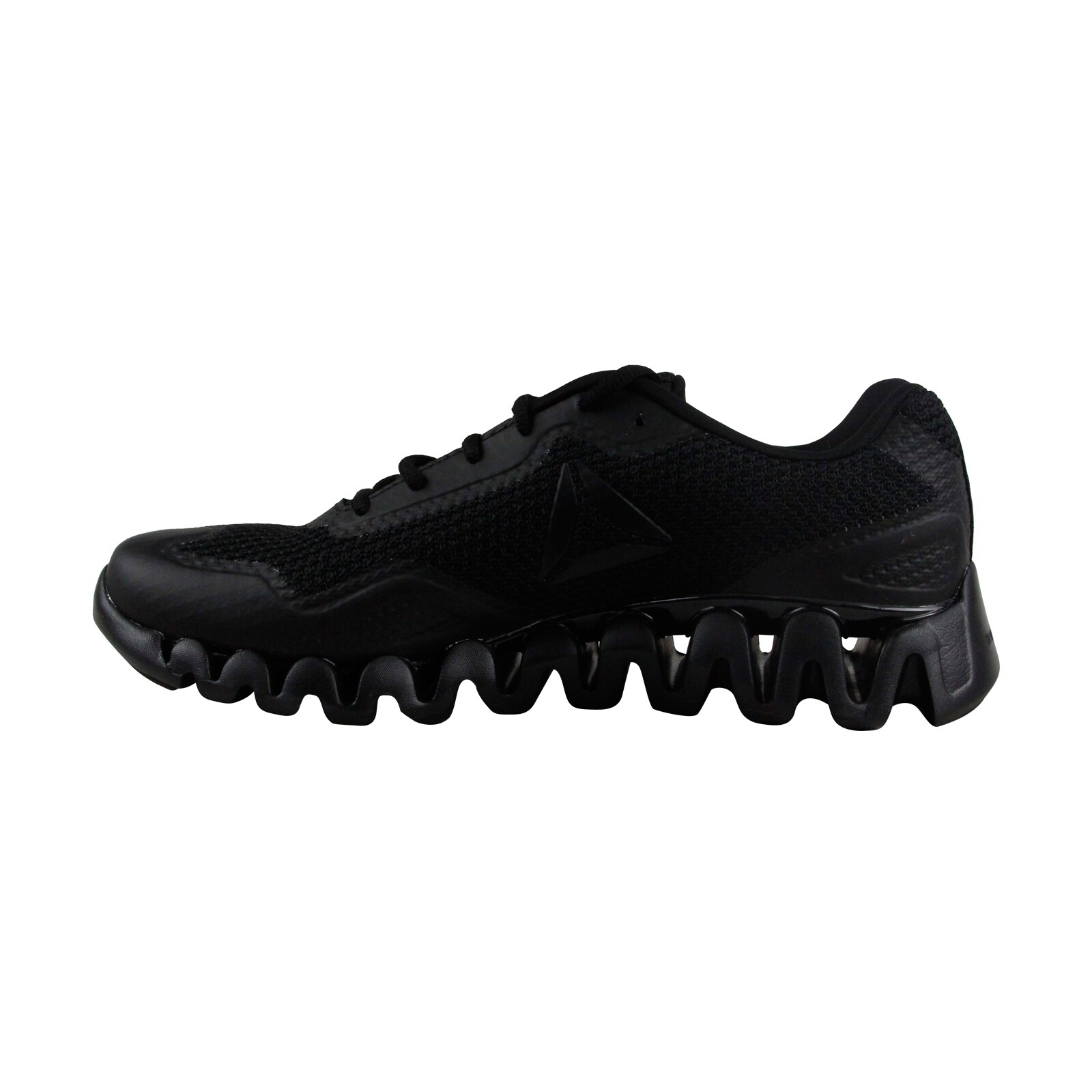 Shop Reebok Zig Pulse SE Mens Black Textile Athletic Lace Up Running Shoes  - Free Shipping Today - Overstock - 19662509 98964f183