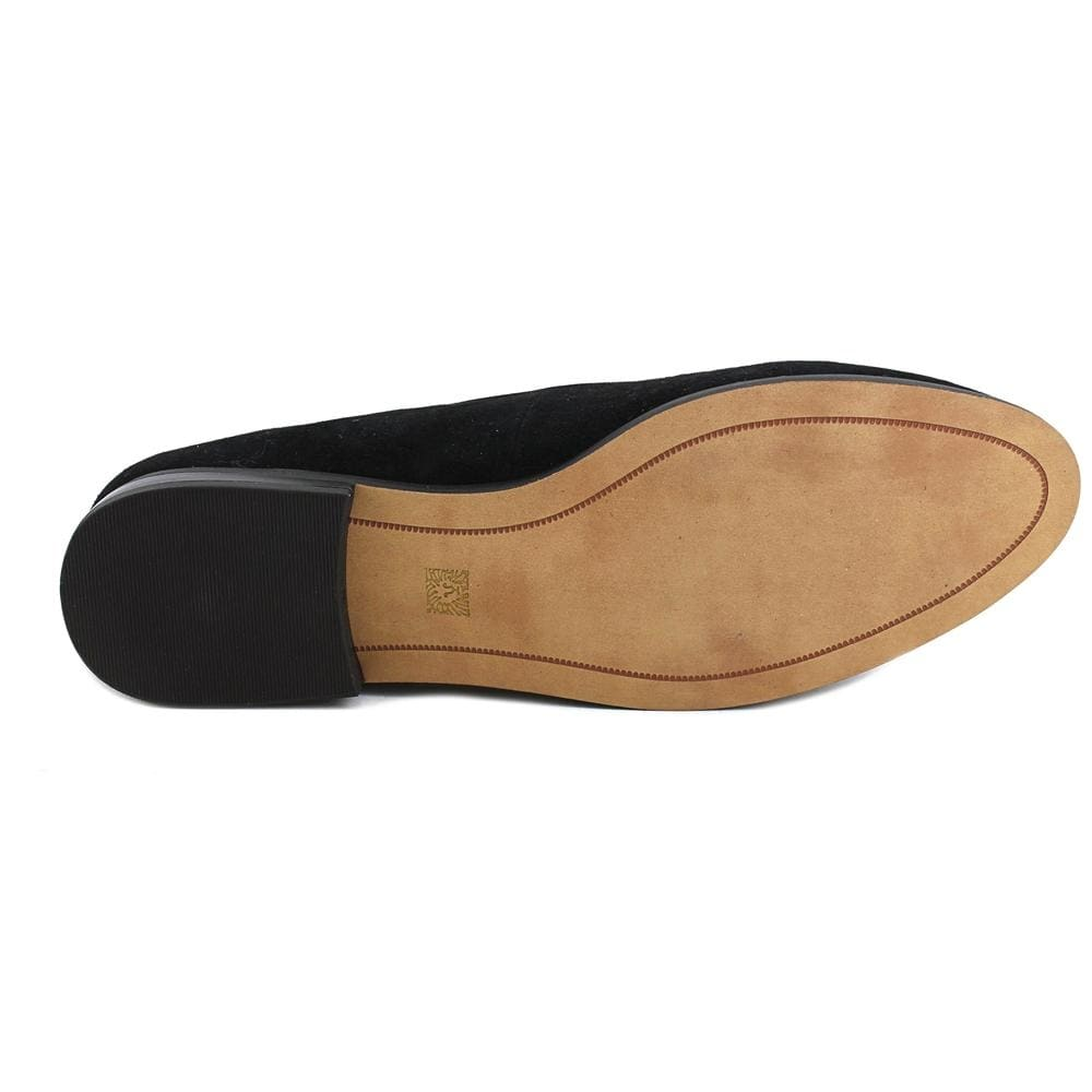f5a2a4f0b70 Shop Anne Klein Darcy Women Round Toe Suede Black Loafer - Free Shipping  Today - Overstock - 20090569