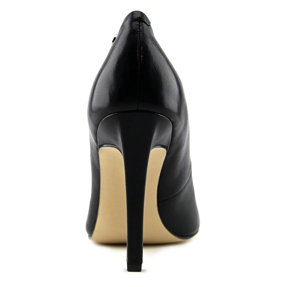 560613e8914 Shop Calvin Klein Brady Women Pointed Toe Leather Black Heels - Free  Shipping Today - Overstock - 17011007