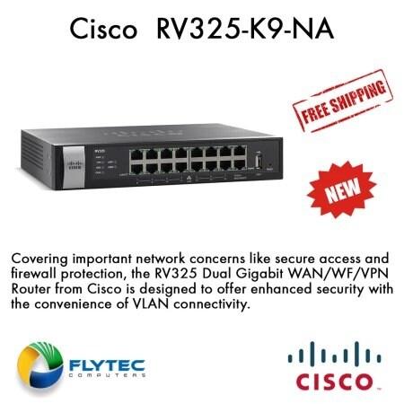 Cisco Systems Gigabit Dual Wan Vpn 14 Port Router (Rv325k9na)