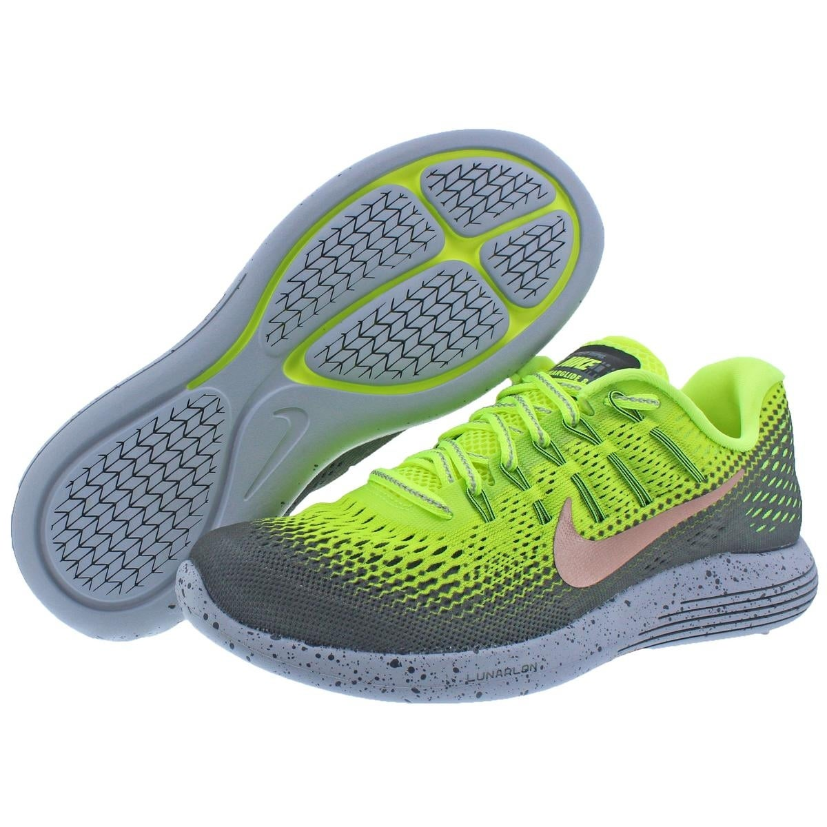 new concept ab661 65ac4 ... low price shop nike mens lunarglide 8 shield running shoes h20 repel  dynamic support 6 medium
