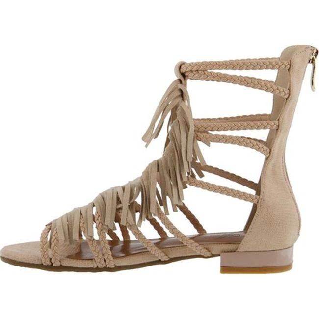 4a3ce10c6d25 Shop Azura Women s Dashuri Gladiator Sandal Beige Synthetic - On Sale -  Free Shipping Today - Overstock - 20870183