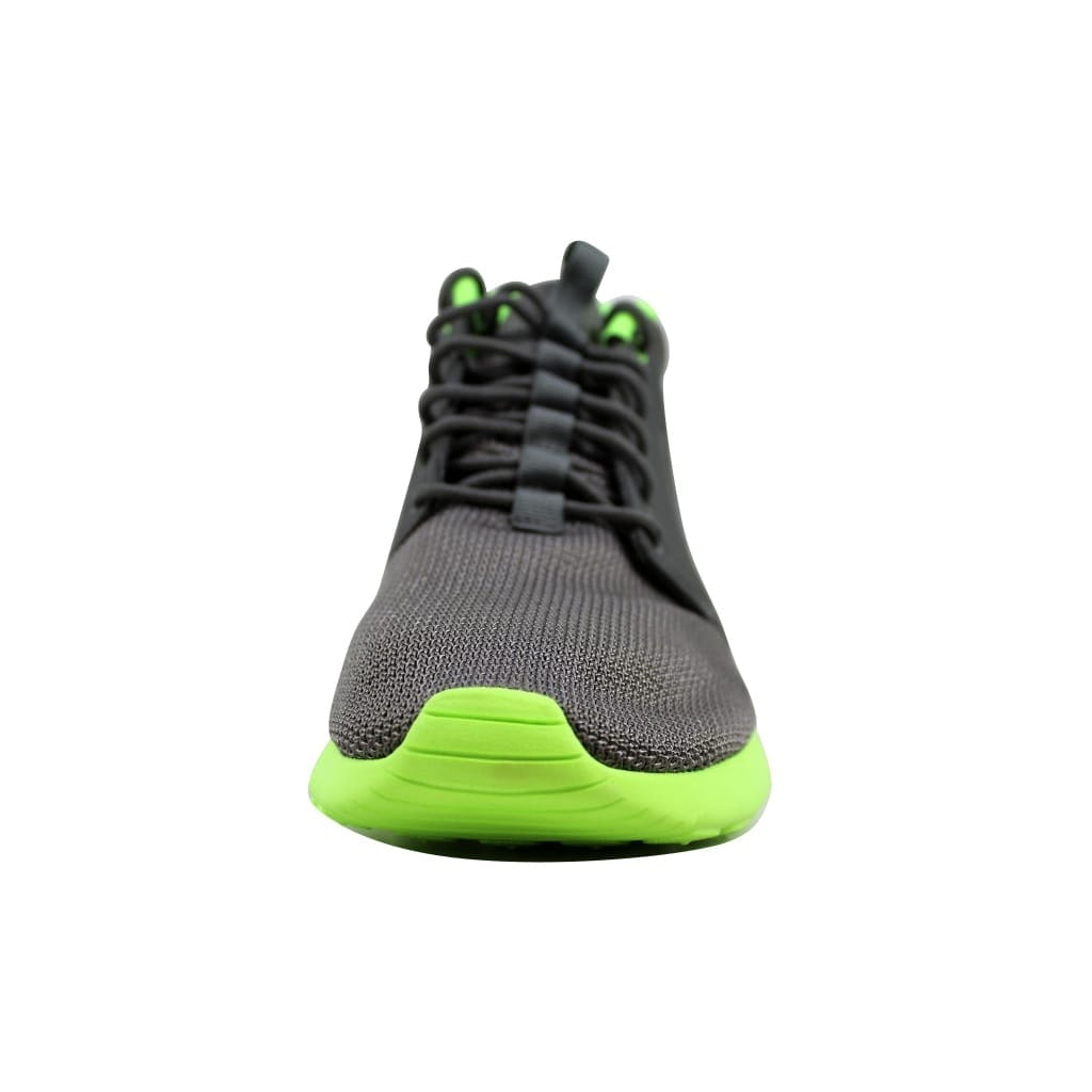 598970e0a792 Shop Nike Men s Rosherun Mid Mercury Grey Mercury Grey-Flash Lime  599501-003 Size 10.5 - Free Shipping Today - Overstock.com - 21893247