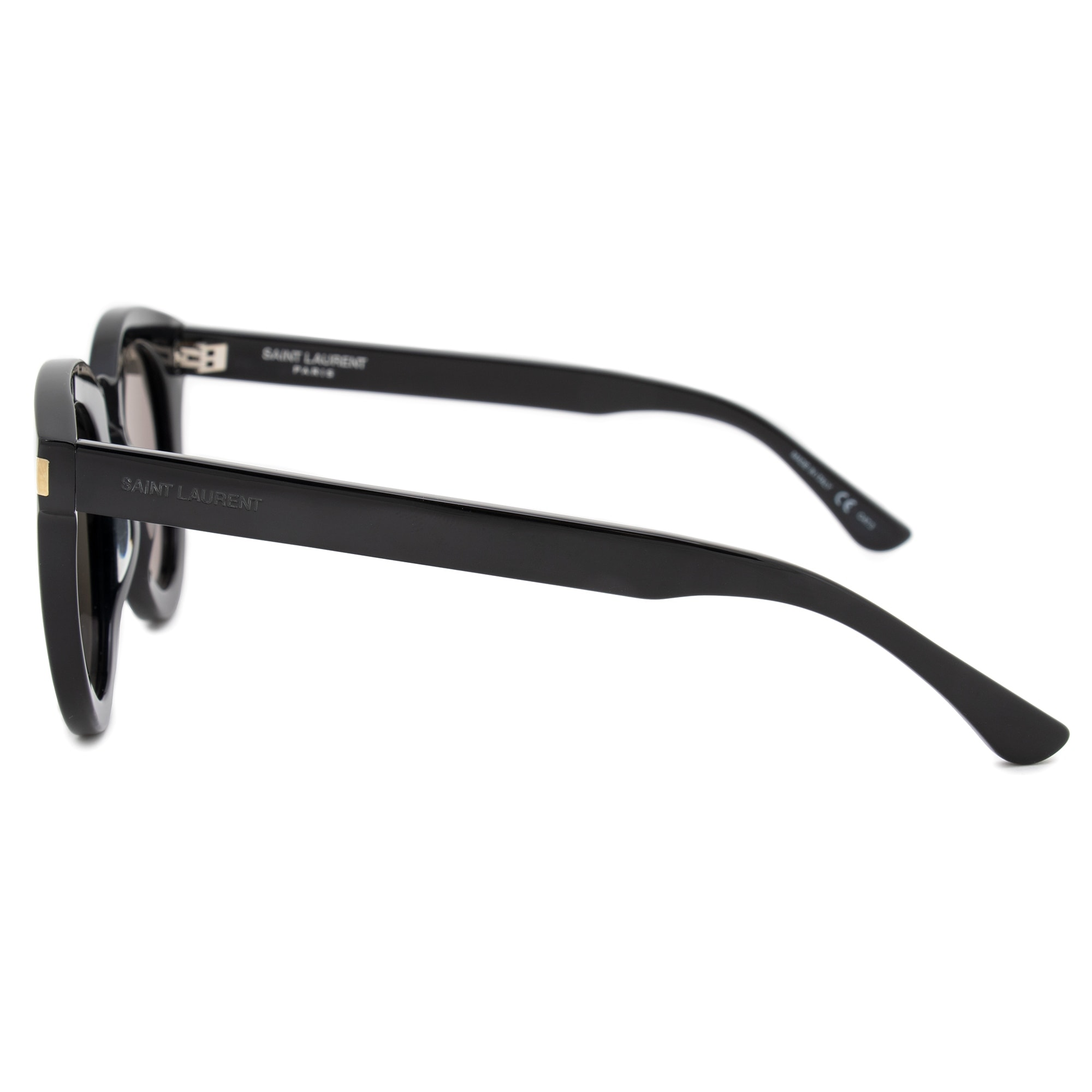 53ee375bec6a Shop Saint Laurent Cateye Sunglasses SL102 001 47 - Free Shipping Today -  Overstock - 25662927