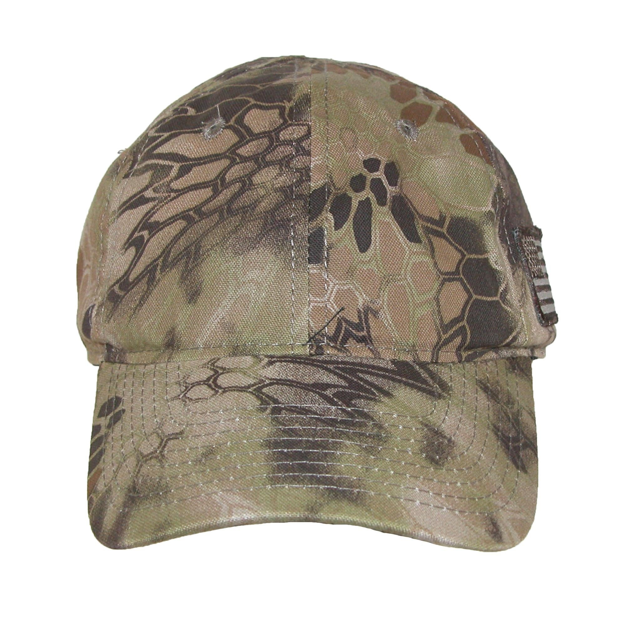 9b5fc01d3f0 Shop Kryptek Camouflage American Flag Baseball Cap - Free Shipping On  Orders Over  45 - Overstock - 14278707