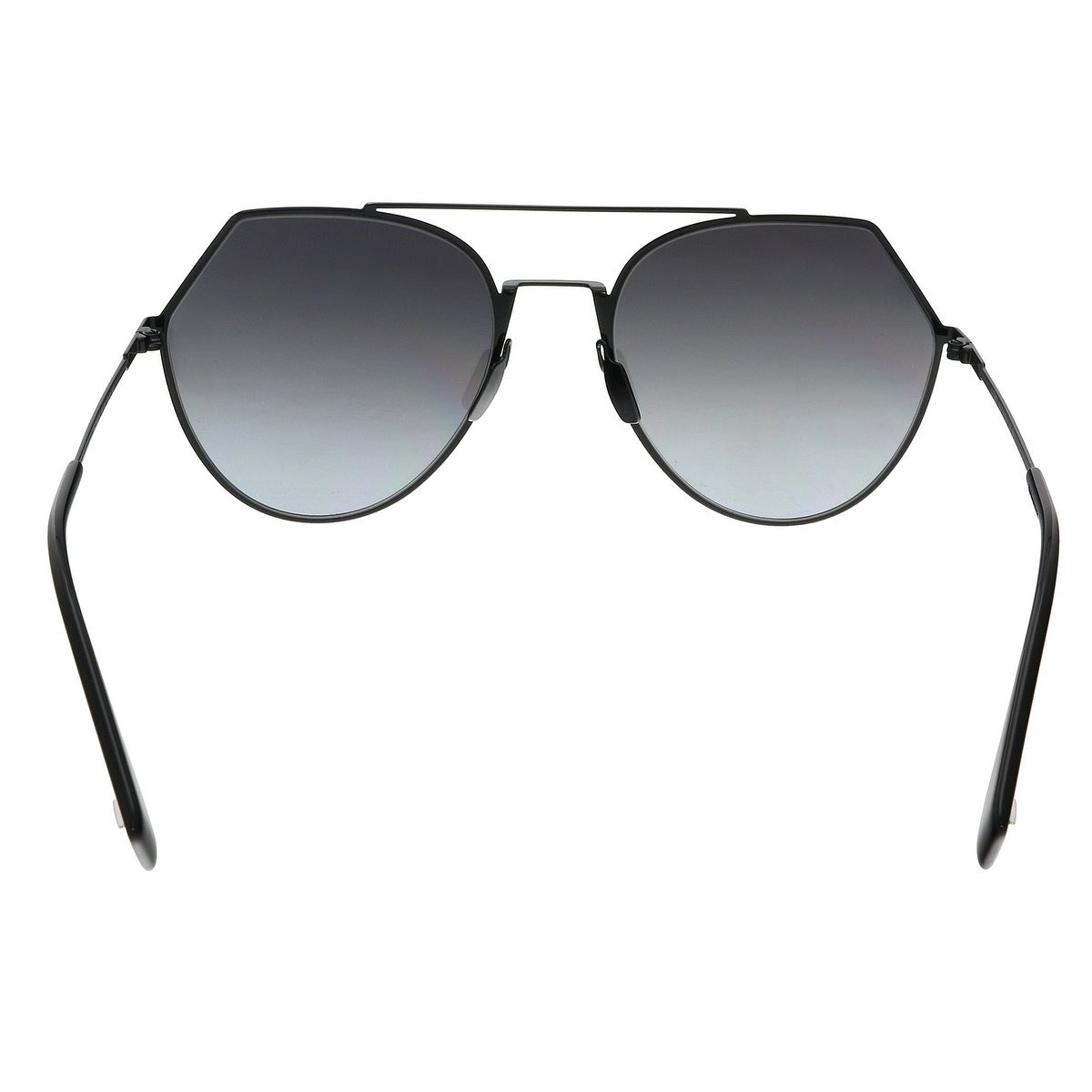 0ac4488a24953 Shop FENDI 0194 S GO 0807 Black Aviator Sunglasses - 55-19-140 - Free  Shipping Today - Overstock - 22818044