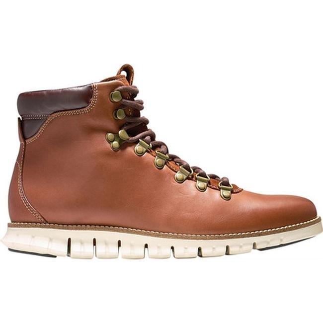 b81c0d955b0 Cole Haan Men's Zerogrand Hiker Water Resistant Boot Woodbury Leather/Ivory