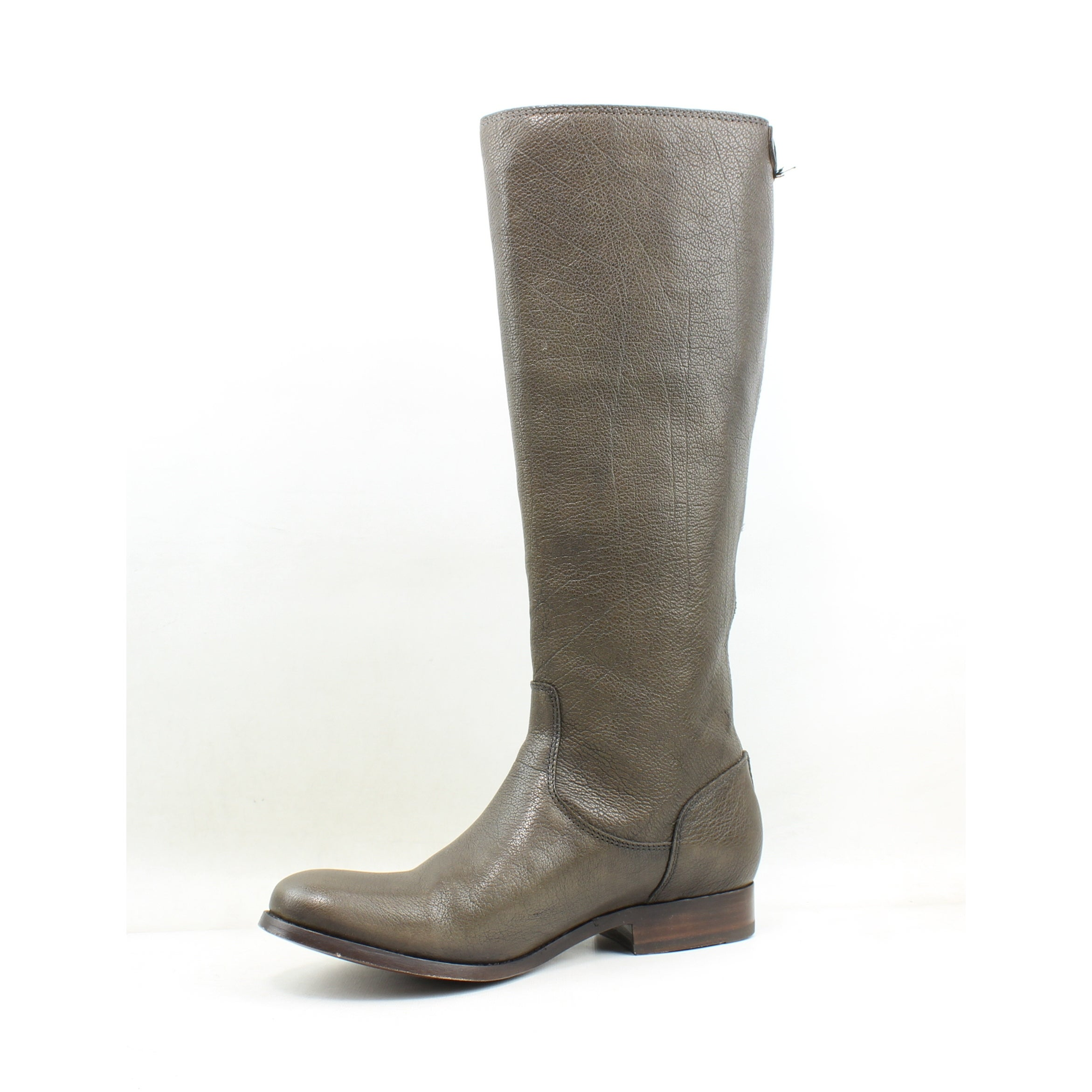 ac9ed62d243 Shop Frye Womens Melissa Button Back Zip Knee-High Brown Riding Boots Size  6.5 - Free Shipping Today - Overstock - 26949546
