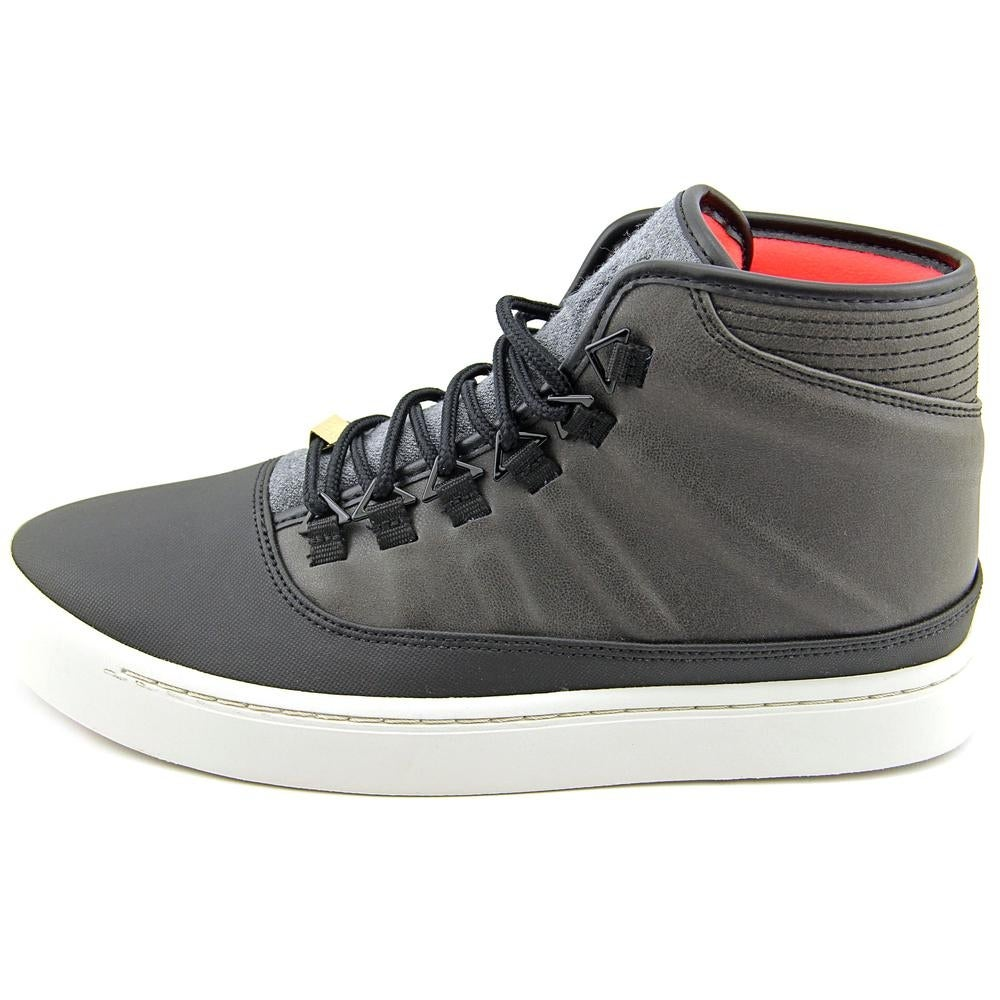super popular 104d2 ba57e Shop Jordan WestBrook 0 Holiday Men Round Toe Leather Black Sneakers - Free  Shipping Today - Overstock - 13747434
