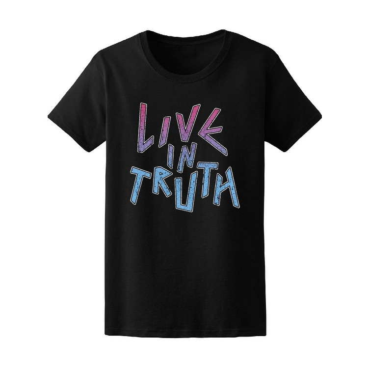 017671b46 Shop Rock Live In Truth Tee Women's -Image by Shutterstock - Free Shipping  On Orders Over $45 - Overstock - 21182996