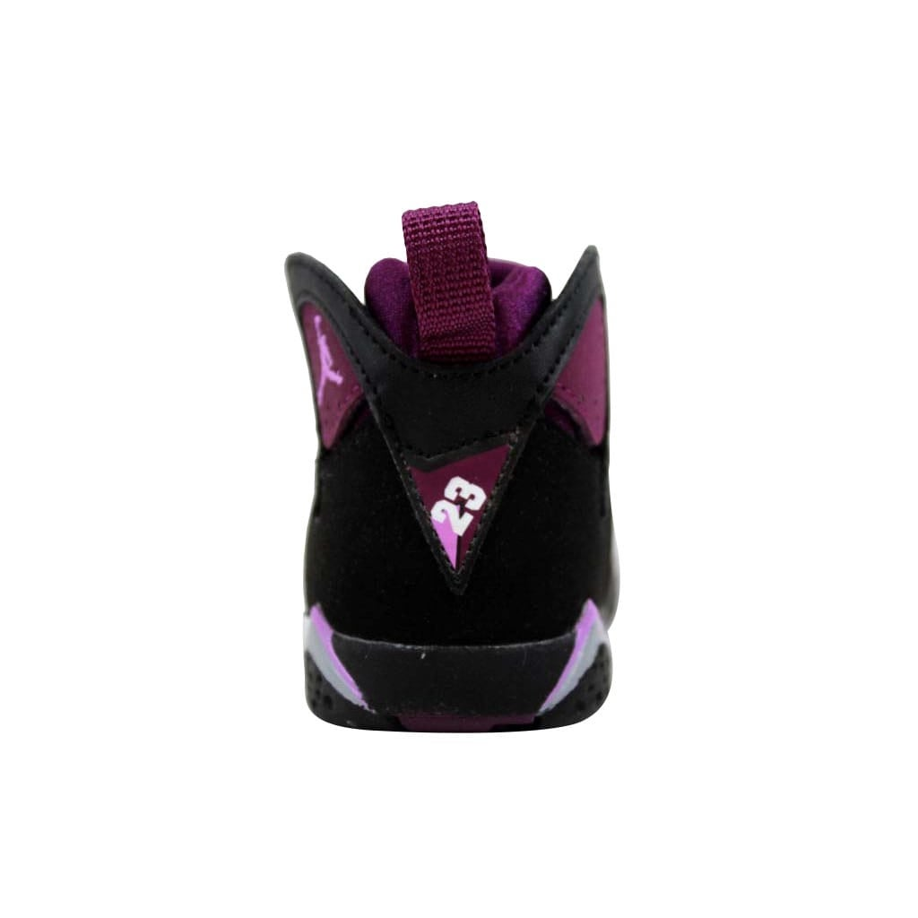 560a2082479f96 Shop Nike Toddler Air Jordan VII 7 Retro GT Black Fuchsia Glow-Mulberry-Wolf  Grey 705418-009 Size 4C - Free Shipping Today - Overstock - 22340571