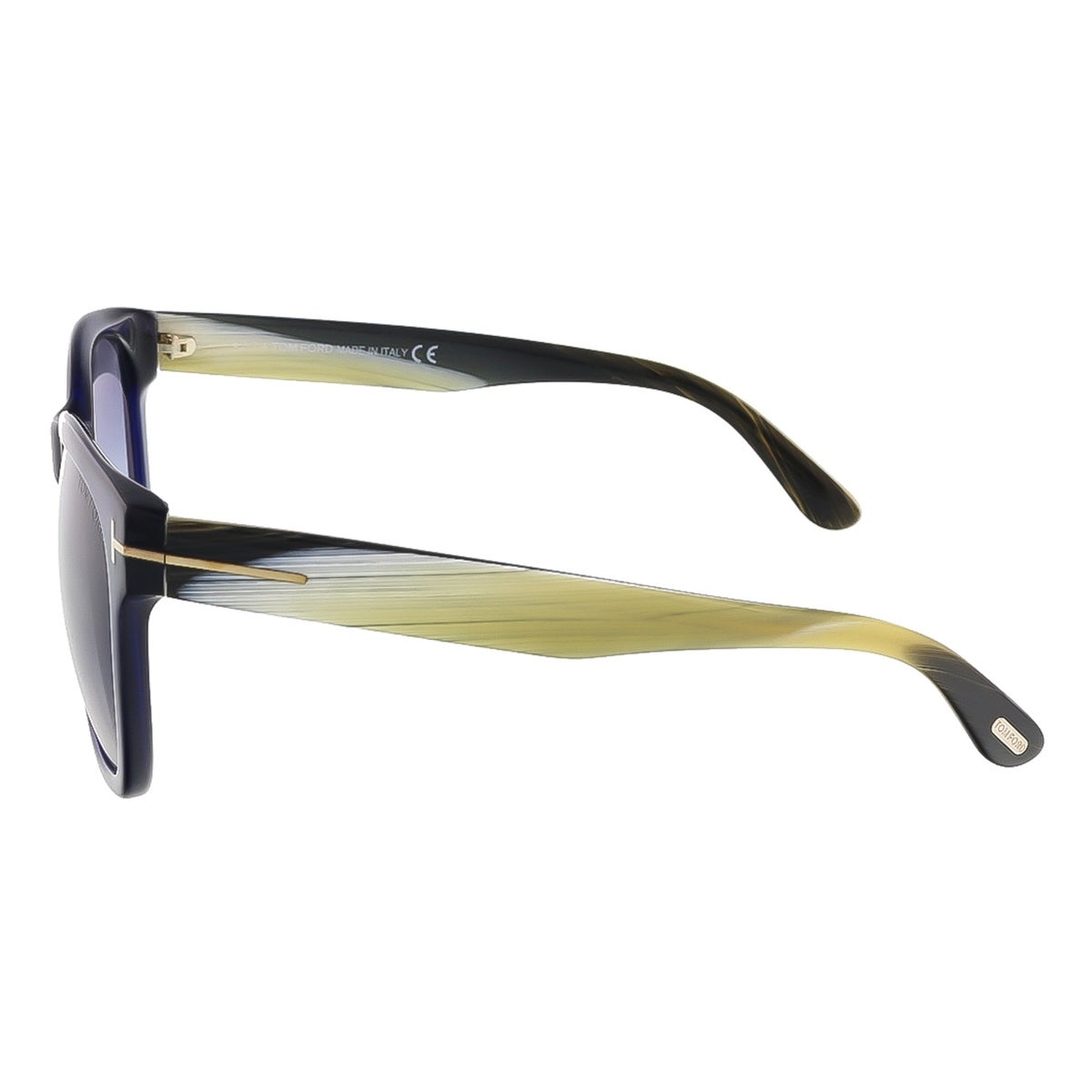 1484da1e91 Shop Tom Ford FT0395 S 89W Cooper Navy Blue Rectangle Sunglasses -  57-17-145 - Free Shipping Today - Overstock - 13318306