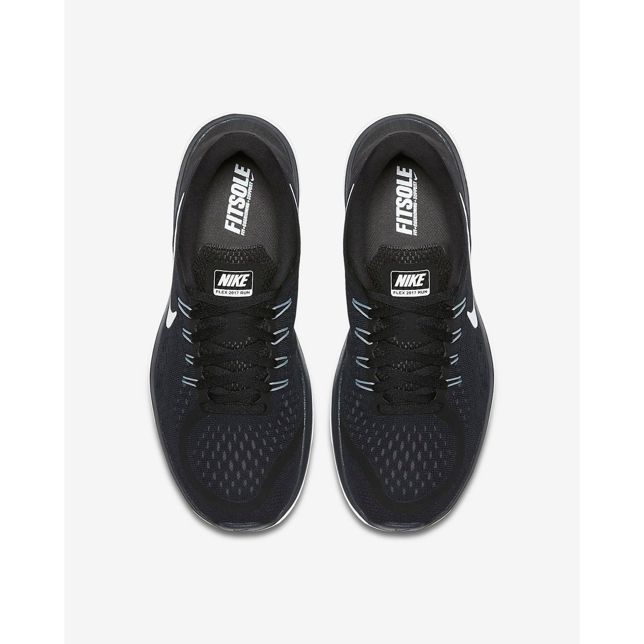 bc0f069b1767 Shop Nike Womens Nike flex 2017 RN Fabric Low Top Lace Up Running Sneaker -  Free Shipping Today - Overstock - 22413187