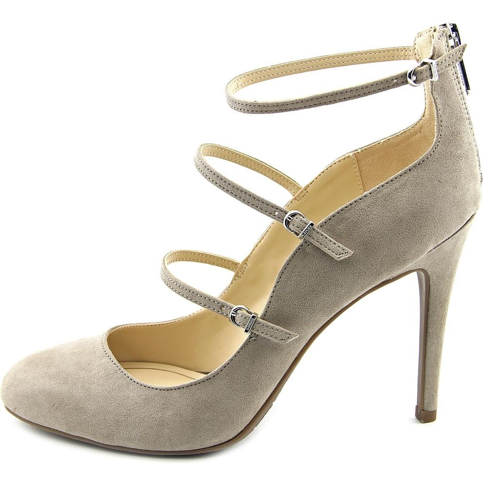 d166987e8d99 Shop Circus by Sam Edelman Chrissy Round Toe Canvas Heels - Free Shipping  On Orders Over  45 - Overstock - 13869416