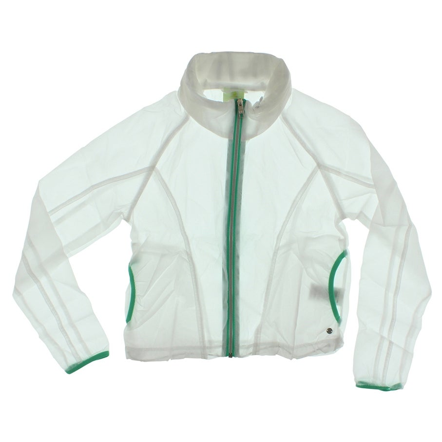 bea12ffb3cc62 Shop Adidas Womens Lightweight Windbreaker Jacket White - White Green - S -  Free Shipping On Orders Over  45 - Overstock.com - 22573851