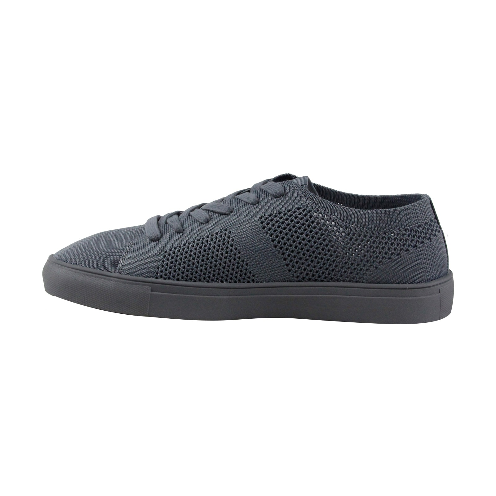 2602716cafe Steve Madden P-Xceel Mens Gray Mesh Lace Up Sneakers Shoes