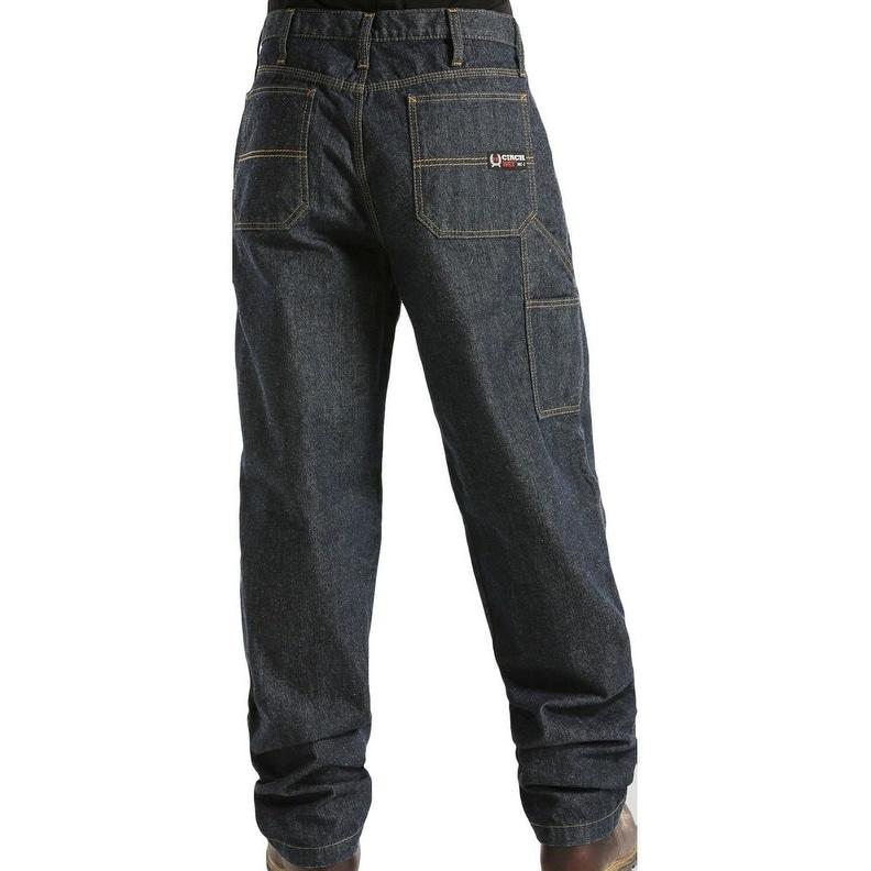 7c81b8e2 Shop Cinch Western Denim Jeans Mens Blue Label WRX Dark Wash - Free  Shipping Today - Overstock.com - 15418481