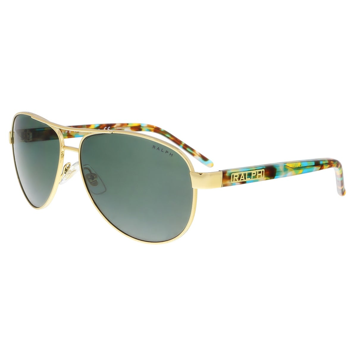 69a1abb03c0 Shop Ralph Lauren RA4004 900471 Gold Aviator Sunglasses - 59-13-130 ...