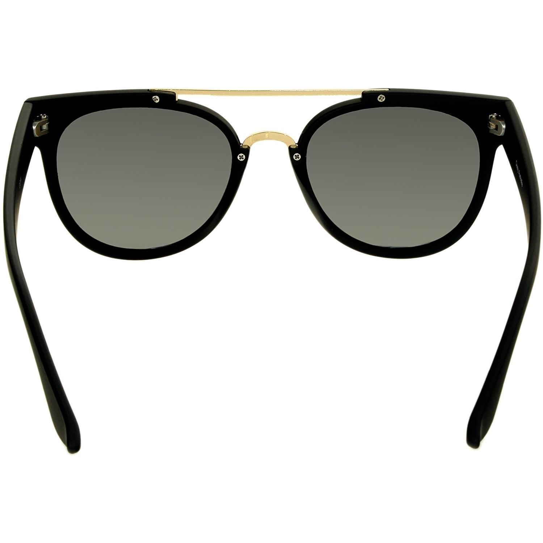 d7f7cc5b2dfea Shop Quay Women s Odin QU-000068-BLK SMK Black Oval Sunglasses - Free  Shipping Today - Overstock - 18901074