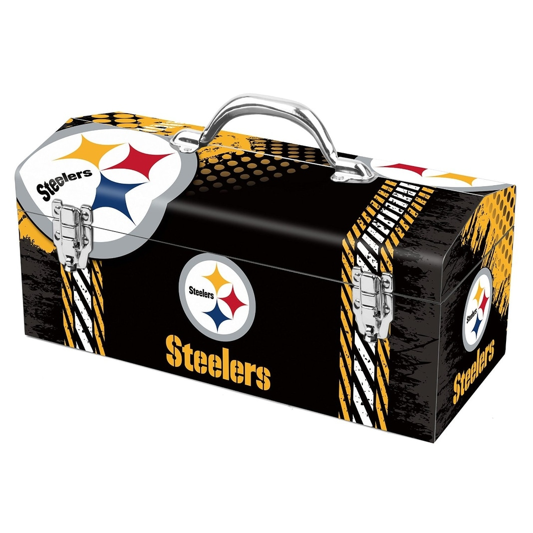 Sainty International 79-324 Pittsburgh Steelers Art Deco Tool Box ...