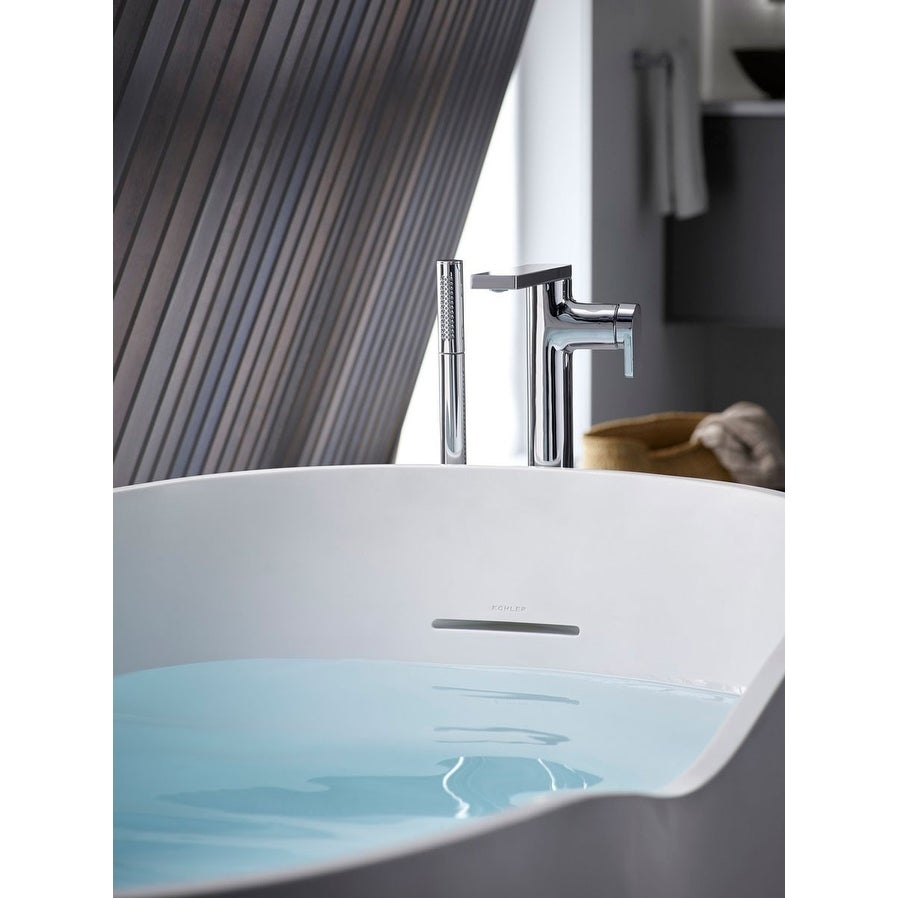 Shop Kohler K-T73087-4 Composed Floor Mounted Roman Tub Faucet with ...
