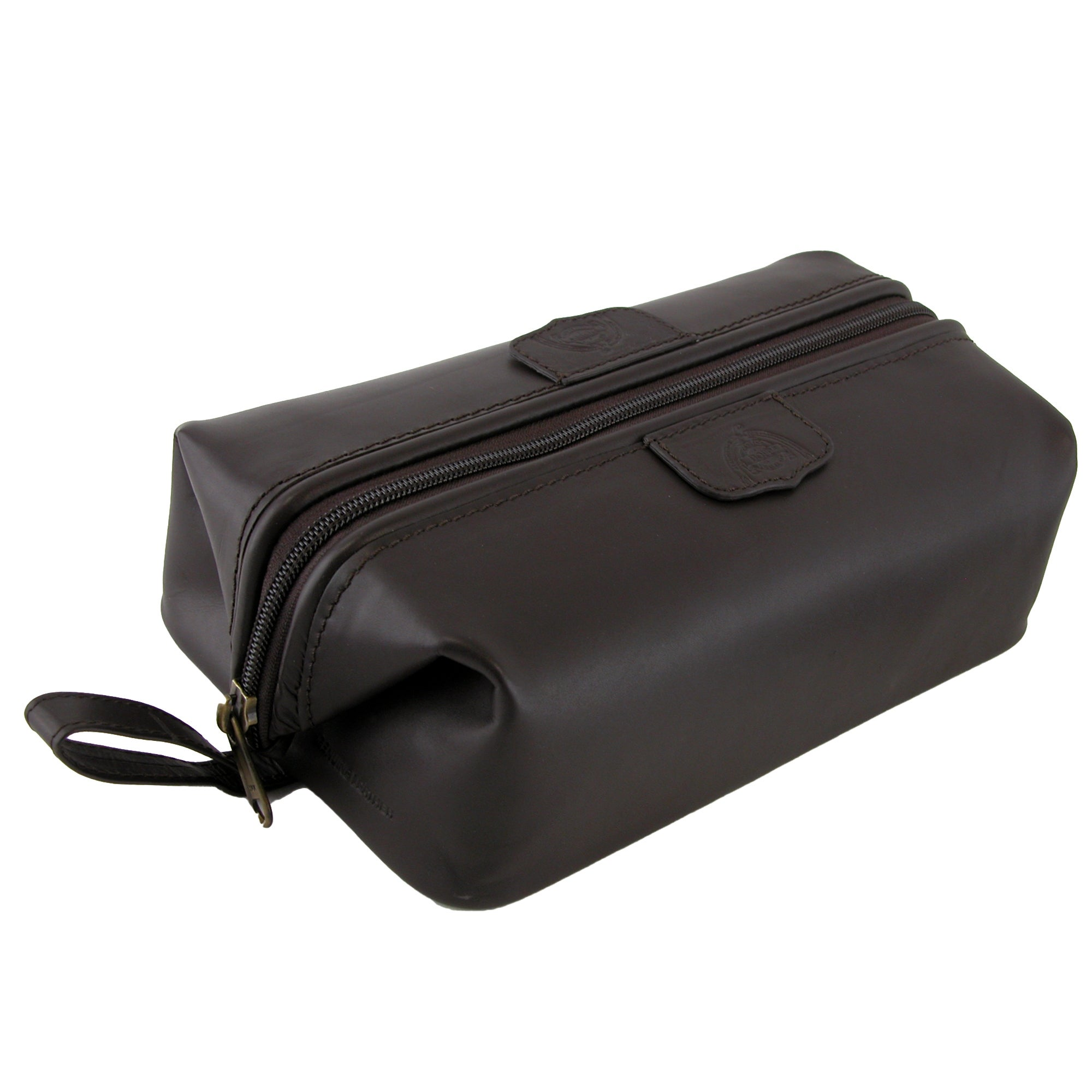 Dopp Men S Leather Water Resistant Travel Kit Bag One Size Free Shipping Today 14277622